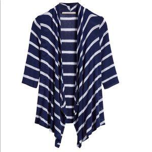 Addison striped knit cardigan. Great shape. XL